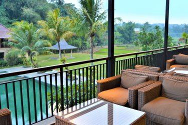 Poolbar to rice field